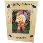 Vintage 1991 Country Stitches Just Be-Claus! 46cm Santa Claus Doll Pattern 155