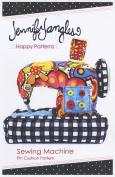 Sewing Machine Pin Cushion Pattern by Jennifer Jangles