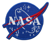 NASA Space Explorer Shuttle Programme Astronaut Embroidered Hook and loop Patch by TrendyLuz