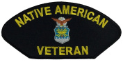 AIR FORCE USAF NATIVE AMERICAN VETERAN PATCH - Multi-coloured - Veteran Owned Business