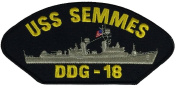 USS SEMMES DDG-18 PATCH - Multi-coloured - Veteran Owned Business