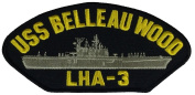 USS BELLEAU WOOD LHA-3 PATCH - Multi-coloured - Veteran Owned Business