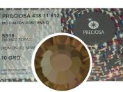 Smoked Topaz HOTFIX, 1440 Preciosa Genuine Czech Crystals 16ss Viva12 Iron-on, ss16, 4mm