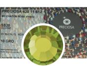 Olivine HOTFIX, 1440 Preciosa Genuine Czech Crystals 20ss Viva12 Iron-on, ss20, 5mm