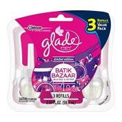 Glade Plugins Scented Oil Air Freshener Refill, Batik Bazaar Wild Rose and Saffron, 2.01 Fluid Ounce