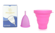 Dandelion Cup Menstrual Cup - Size 2 - Orchid Plus Pink Menstrual Cup Washing Container