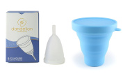 Dandelion Cup Menstrual Cup - Size 2 - Lily Plus Blue Menstrual Cup Washing Container