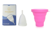 Dandelion Cup Menstrual Cup - Size 2 - Lily Plus Pink Menstrual Cup Washing Container