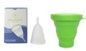 Dandelion Cup Menstrual Cup - Size 2 - Lily Plus Green Menstrual Cup Washing Container