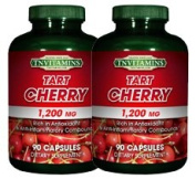 TNVitamins Tart Cherry Extract 1200 Mg