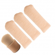 Toe Tubes Sleeve with Silicone Fabric Lining, for Callus, Corn, Blister and Hammer Toe Treatment
