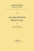 Les Inscriptions Medievales  [FRE]