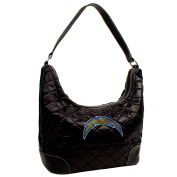 NFL Sport Noir Quilted Hobo Purse