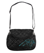 NFL Sport Noir Quilted Saddlebag Purse