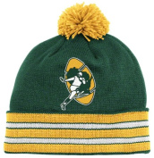 Men's Mitchell & Ness Beanie Green Bay Packers Green Yellow One Size