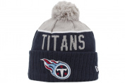New Era Tennesse Titans Official On Field NFL 2015 Winter Beanie