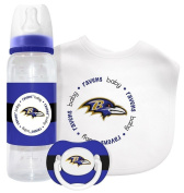 NFL Licenced Baby Fanatic Kick Off Collection 3-Piece Feeding Set