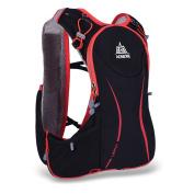 Docooler 5L Outdoor Sport Running Vest Backpack Women Men Hydration Vest Pack for 1.5L Water Bag Cycling Hiking Bag