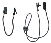 Cap Clips and Hat Chin Strap - Set of 2 Cord Retainers with Clips for Golfing, Fishing, Boating, Sailing, and Other Sports