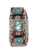 Turquoise Ring, Lapis Ring, Coral Ring, Tibetan Ring, Nepal Ring, Gypsy Ring, Boho Ring