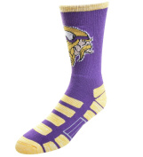 For Bare Feet NFL Patches Crew Socks