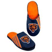 NFL 2012 Football Team Big Logo Stripe Slippers - Hard Sole