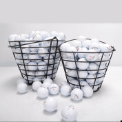 Metal Golf Basket Golfball Container