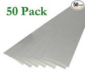 50 Brampton Quick Strips™ 5.1cm x 28cm Double Sided Golf Club Grip Tape PreCut Kit Regrip Set