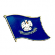 US Flag Store Louisiana Flag Lapel Pin