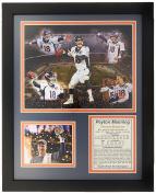 NFL 2015 Super Bowl 50 Champions Peyton Manning Legends Never Die Framed Photo Collage