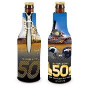 NFL Super Bowl 50 Match Up Duelling Helmets Carolina Panthers vs Denver Broncos Beverage Drink Holder Coolers - Pick Style