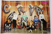 B.A.P BAP -CARNIVAL (5th Mini Album) [Special Edition] OFFICIAL POSTER with Tube Case 80cm x 50cm