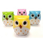 6 Owl Pencil Sharpeners~Teacher, School, and Classroom Supplies