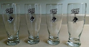 Beer Glass Sets 4pc Drinking Glasses Drinkware Kitchen Dining Set