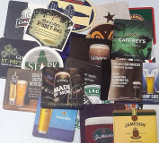 A Gift From Ireland set of 25 cardboard beer mats