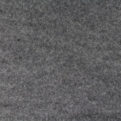 Smoke Grey Felt Fabric - By the Yard