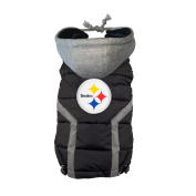 NFL Pittsburgh Steelers Dog Puffer Vest