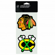 NHL 2-Piece Die-Cut Decal, 10cm x 20cm