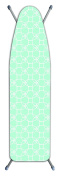 Laundry Solutions by Westex Deluxe Extra Thick Bubbles Ironing Board Cover, Teal
