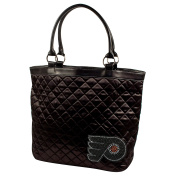 NHL Sport Noir Quilted Tote Purse