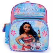 Disney Moana School Backpack 30cm Medium Girls Book Bag-Blue