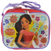 Princess Elena Rectangle Lunch bag with Strap and Printed PVC & Sequin Underlay- 1 PC