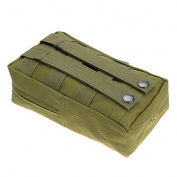 Generic 8*4.75*5.1cm Military Nylon Outdoor Army Waist Bag Pouch Case