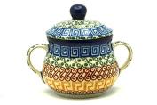 Polish Pottery Sugar Bowl - Autumn