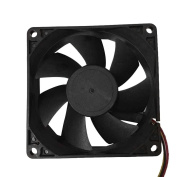 FTXJ Durable 8cm/80mm/80x80x25mm 12V Computer/PC/CPU Silent Cooling Case Fan