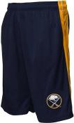 Buffalo Sabres NHL Majestic Embroidered Logo Synthetic Shorts Navy Big Sizes