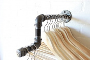 Urban Industrial Pipe Wall Rack - Clothing Rack, Closet Organisation, Retail Display