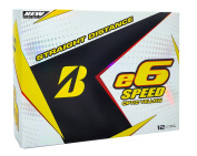 Bridgestone 2017 E6 Speed Golf Balls
