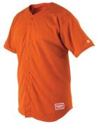 Rawlings Men's Full Button RBJ167 Jersey