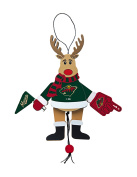 NHL Wooden Cheer Ornament